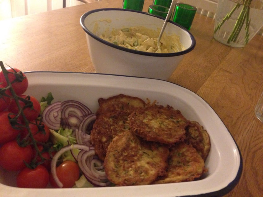 Courgettefritters